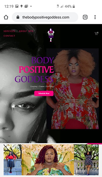 The Body Positive Goddess